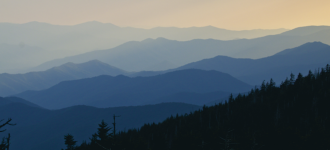 Large great smoky mountains