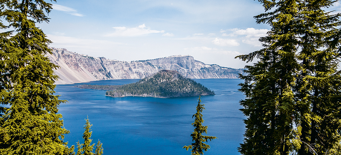 Large crater lake